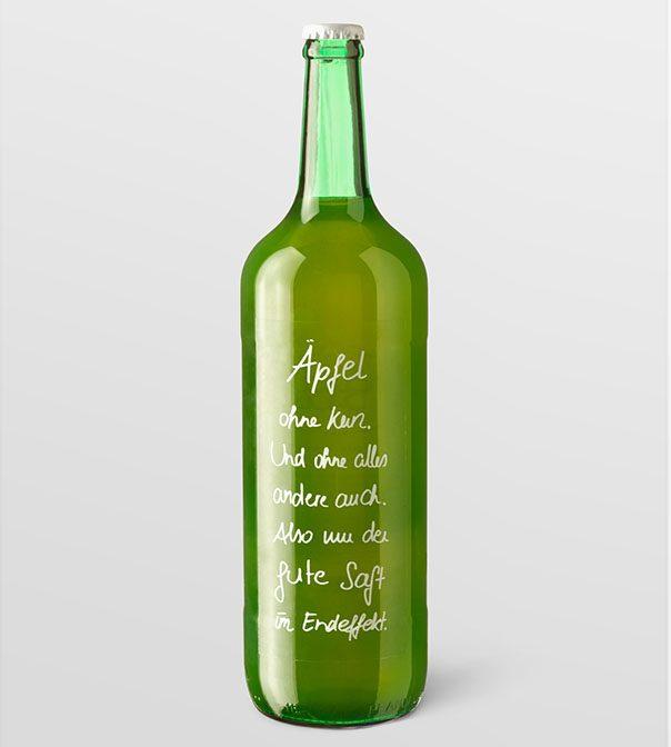 Dazu Apfelsaft - 0,75l